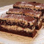 Kávés - tejszínes szelet - Fincsi sütemény Tiramisu, Good Food, Food And Drink, Cookies, Ethnic Recipes, Mascarpone, Crack Crackers, Biscuits, Cookie Recipes