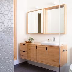Such a beauty, this one! Handcrafted Solid blackbutt bathroom vanity and mirror cabinet. has a philosophy of using sustainable timber from local suppliers and collaborators and mostly reclaimed Australian timbers. Designed by Timber Furniture, Custom Furniture, Furniture Design, Timber Bathroom Vanities, Coastal Bathrooms, Reclaimed Timber, Mirror Cabinets, Bathroom Inspo, Quality Furniture