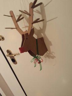 Reindeer door decoration!