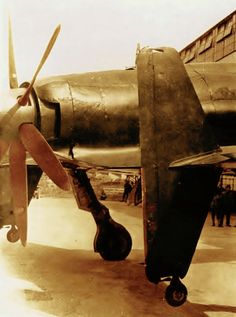 Kyushu Shinden under development at end of WWII Navy Aircraft, Aircraft Photos, Ww2 Aircraft, Aircraft Carrier, Military Aircraft, Imperial Japanese Navy, Ww2 Pictures, Ww2 Planes, Kyushu