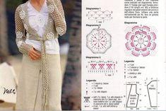 0059 - Modele de fuste si rochii crosetate