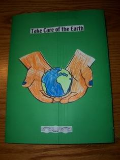 earth day recycling lap book