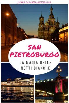 Le notti bianche a San Pietroburgo sono pura magia: il cielo si tinge di rosa, la città si risveglia, i ponti si alzano. Un sogno ad occhi aperti.