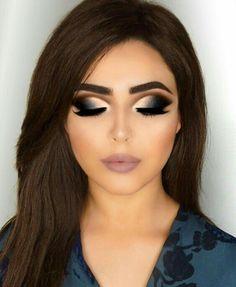 Silver Eye Makeup, Red Makeup, Smokey Eye Makeup, Cute Makeup, Glam Makeup, Gorgeous Makeup, Eyeshadow Makeup, Bridal Makeup, Wedding Makeup