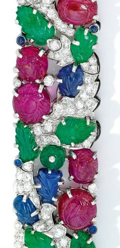 A lady with a love for literature and shiny things discusses books & bling. Pink Ring, Art Deco Era, Tutti Frutti, Delicate Jewelry, Jewel Box, Art Deco Jewelry, Stone Carving, Art Deco Fashion, 4th Of July Wreath