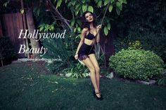 The Fashion Gone Rogue 'Hollywood Beauty' Photoshoot Stars Mikayla #hollywood #hair trendhunter.com