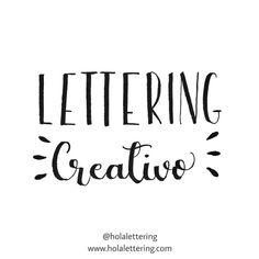 10 TIPS: Cómo Hacer Lettering Para Principiantes | Hola Lettering Lettering Design, Hand Lettering, Calligraphy, Math Equations, Bullet Journal, Ideas, Texts, Paper, Frases