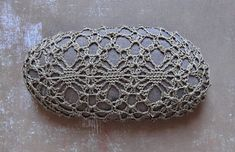 Holidays Entertaining Crochet Lace Stone Thanksgiving di Monicaj