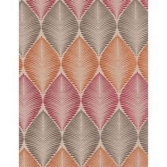 Leaf Fall Woven Curtain Fabric ($130) ❤ liked on Polyvore featuring home, home improvement and fabric