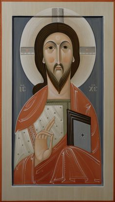 Icon by Philip Davydov and Olga Philip Davydov and Olga Shalamova Images Of Christ, Pictures Of Jesus Christ, Religious Images, Religious Icons, Religious Art, Byzantine Icons, Byzantine Art, Christ The King, Catholic Art