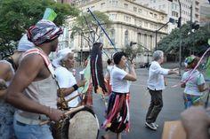 Grupo tambores Virada Cultural em Belo Horizonte.  #ÓrbitaFotografias #BH