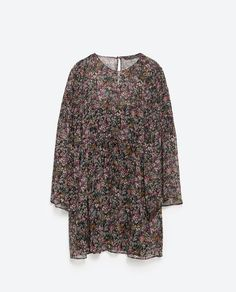Image 8 of FLORAL PRINT DRESS from Zara (small)