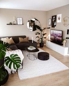 Cute Living Room, Living Room Decor Cozy, Bedroom Decor, Home Room Design, Home Interior Design, Living Room Designs, Interior Livingroom, Living Room Inspiration, Home Decor Inspiration