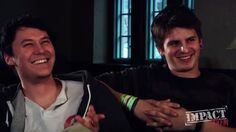 The front bottoms. Mat uychich and Brian sella