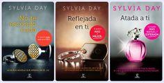 'No te escondo nada', 'Reflejada en ti' y 'Atada a ti' de Sylvia Day