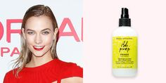 Use: Bumble and bumble Bb. Prep Primer, $24 BUY NOW We normally shy away from any variation of fresh-out-the-shower looks, but leave it to Karlie Kloss to make it completely sexy.  Apparently the former Victoria's Secret Angel is staying on-trend as the damp aesthetic may be having a moment in 2016, spotted on the Proenza Scouler runway this season. Luckily for us, this style is easy to emulate. Start by parting your hair dramatically to either side, and generously spray Bumble and bumble's…