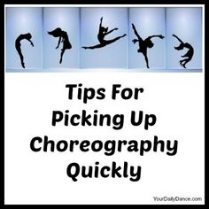 """A huge thing that helped me when I was a younger dancer in Drill-Team was a technique we named ""calling it"". Try to label each part of the choreography that you are struggling with. Name the sections something that can provide you with an image in your Dance Teacher, Dance Class, Dance Studio, Dance Convention, Dance Stretches, Dance Technique, Belly Dancing Classes, Dance Tips, Dance Choreography"
