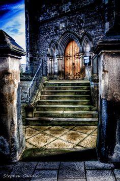 Church Steps...