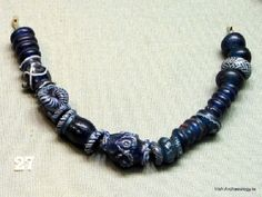 Viking Age glass beads from Dublin, Ireland