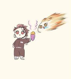 Read Kimetsu No Yaiba / Demon slayer full Manga chapters in English online! Anime Bebe, Anime Ai, Anime Demon, Anime Chibi, Manga Anime, Slayer Meme, Dragon Slayer, Haikyuu Anime, Doujinshi