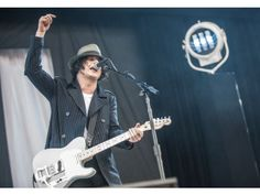 Jack White performs at Outside Lands.