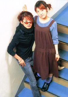 Paku Romi : 朴 璐美 & Kugimiya Rie : 釘宮 理恵 #seiyuu #voiceactor