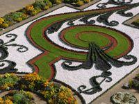 the garden in schloss hof, schlosshof, lower austria Austria, Garden Hedges, World's Most Beautiful, Summer Travel, Beautiful Landscapes, Stepping Stones, Garden Design, Castle, Outdoor Decor