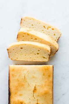 Its creamy texture and sweet flavor combines perfectly in this slightly tart lemony cake