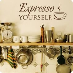 Perfect For A Coffee Themed Kitchen