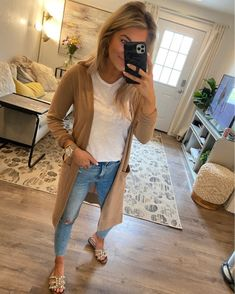 - Summer Outfits for Work Cardigan Outfits, Casual Outfits, Cute Outfits, Fashion Outfits, 90s Fashion, Vintage Fashion, Summer Work Outfits, Spring Outfits, Spring Summer Fashion