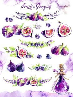 This product participates in the Watercolor Bundle This is a vintage watercolor collection in trendy Ultra Violet colors. The violet is full of deep Watercolor Paper Texture, Floral Watercolor, Graphic Design Portfolio Examples, Purple Themes, Clip Art, Decoupage Vintage, Beautiful Fonts, Book Images, Antique Books