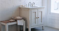 Shabby chic meets Edwardian ? Lovely floral subtle tiles