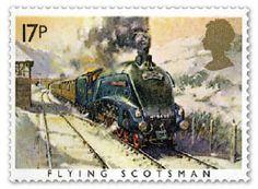 Famous trains - Flying Scotsman