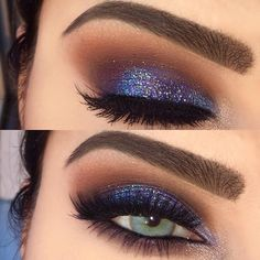 """391 Likes, 20 Comments - A a i s h a ✨ (@makeupvanityxo) on Instagram: """"Got a case of the bluesss  So glad you guys are enjoying this makeup! I just pulled out my palette…"""""""