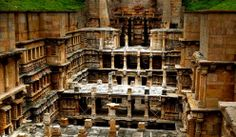Rani Ki Vav (the Queen's Stepwell) in Patan, Gujarat, India - Rani-ki-Vav, on the banks of the Saraswati River, was initially built as a memorial to a king in the century AD. Indian Architecture, Ancient Architecture, Agra, Jaipur, Temple India, Visit India, Photography Tours, India Tour, Indian