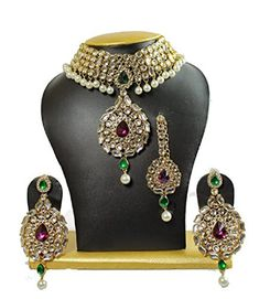 VVS Jewellers Purple & Green Stone Gold Plated Ethnic Ind... https://www.amazon.com/dp/B0794XPX14/ref=cm_sw_r_pi_dp_U_x_pWoJAb2Z8MXFC
