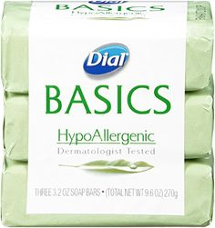 Dial Basics Bar Soap, Hypoallergenic, Bars, 3 Count: Dial hypoallergenic soap is tested by dermatologists and great for sensitive skin. Best Soap For Tattoo, Soap For Tattoos, Coconut Oil For Face, Organic Coconut Oil, Dial Bar Soap, Best Beauty Blender, Tone Body Wash, Pure Cocoa Butter