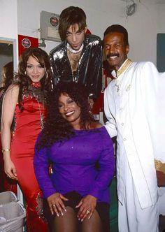 Mayte, Prince, Larry Gram & Chaka