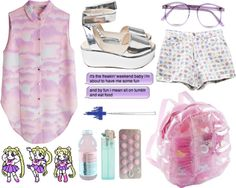 """""""This is what makes us girls"""" by twisted-candy ❤ liked on Polyvore"""
