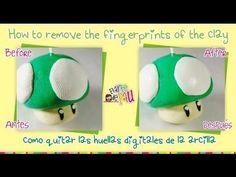 **TIP** How to remove the fingerprints of the clay / Como quitar las huellas digitales de la arcilla - YouTube