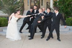Photo by Brandi of Ashelle Photography. Chelsea & Jordan Cooke & Groomsmen May 7, 2016 YWCA Downtown Fort Worth, Texas Historic Building