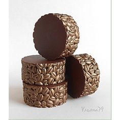round coffee soap
