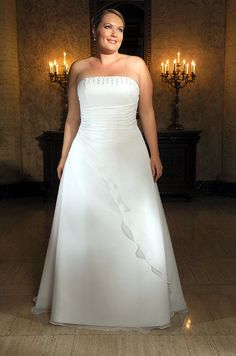 Shopping for a Cheap Plus Size Wedding Dresses For Brides can be a stressful event for a bride. If you have a body type that unflattering, it is a little difficult to make the right choice. Then, finding the right dress is a concern if you're stuck on the budgets.
