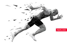Find Silhouette Running Man Sprinter Explosive Start stock images in HD and millions of other royalty-free stock photos, illustrations and vectors in the Shutterstock collection. Ab Workout At Home, At Home Workouts, Ab Workouts, Runner Tattoo, Pilates Logo, Running Art, Running Silhouette, Basketball Posters, Sports Graphic Design
