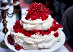 wild berry italian wedding pavlova
