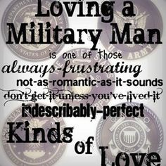 Military wife, military life, even though I'm not a military wife