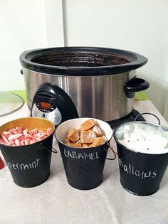 Hot Cocoa Bar! For Xmas day                                                                                                                                                                                 More
