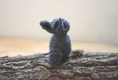 DIY knitted bunny