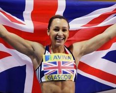 Jessica Ennis - Heptathlon Gold Medallist - London 2012 - just brilliant! Jessica Ennis, Heptathlon, Tight Abs, 2012 Summer Olympics, Pet Shop Boys, British Accent, Team Gb, Fitness Competition, Sports