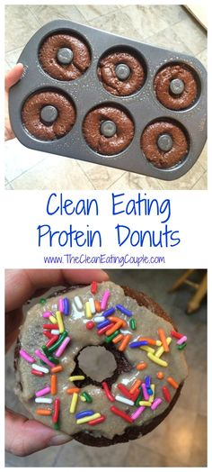 Clean Eating Protein Donuts | The Clean Eating Couple